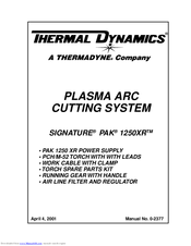 970029_signature_pak_1250xrtm_product thermal dynamics signature pak 1250xrtm manuals Thermal Dynamics Cutmaster 51 Parts at soozxer.org