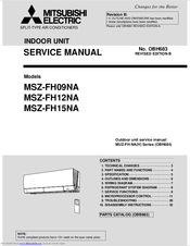 mitsubishi electric msz fh09na manuals rh manualslib com mitsubishi electric mr. slim owners manual mitsubishi electric service manual