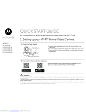 Motorola FOCUS85-B Quick Start Manual