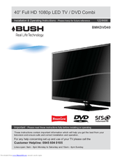 bush bmkdvd40 manuals rh manualslib com Bush Plane Wallpaper 80s Style Bush HD