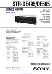 sony str de595 manuals rh manualslib com ATV to Sony STR De595 Sony STR De595 Manual