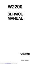 canon w7250 manual