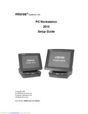 MICROS PCWS 2010 DRIVER PC