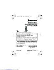 panasonic kx tga410c manuals rh manualslib com panasonic cordless phones manuals kx-tgf570 panasonic cordless phones manuals kx-tg6441
