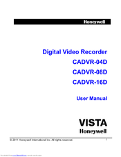 Honeywell CADVR-04D User Manual