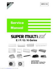 Daikin 4mxs68f2v1b Manuals