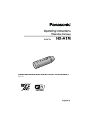 Panasonic HX-A1M Operating Instructions Manual