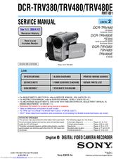 SONY DCR-TRV380 DRIVER UPDATE