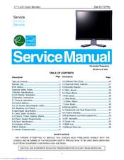 dell e177fpc manuals rh manualslib com dell monitor service manual free download dell e193fp monitor service manual