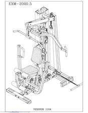 body solid exm 2000 5 manuals rh manualslib com body solid g6b manual body solid g3s manual