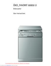 aeg integrated dishwasher installation instructions
