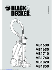 Black & Decker VB1820 User Manual