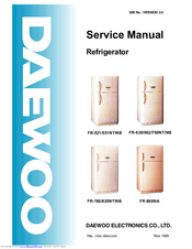 daewoo fr 860na manuals rh manualslib com How Good Are Daewoo Refrigerators How Good Are Daewoo Refrigerators