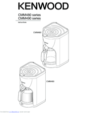 Kenwood CMM490 series Instructions Manual