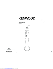 Kenwood HB680 series Instructions Manual