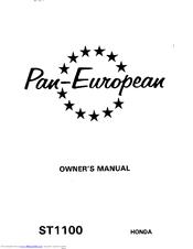 honda pan european st1100 workshop manual free download
