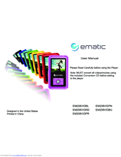 Ematic EM208VIDBU User Manual