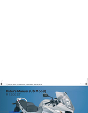 BMW R 1200 ST - User Manual