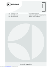 Electrolux A01061201 Use And Care Manual