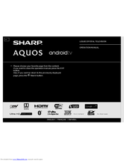 sharp aquos lc 70uc30u manuals rh manualslib com sharp aquos quattron 3d 70 manual sharp aquos quattron 70 inch manual