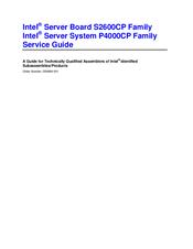 Intel P4000CP Server System Drivers PC