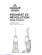 bissell proheat 2x revolution 1548 series user manual pdf download rh manualslib com bissell proheat turbo 2x instruction manual bissell proheat turbo 2x user guide
