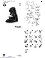 Philips Senseo HD7812 Manuals