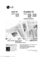 lg 50pc3d 50 plasma tv manuals rh manualslib com lg 50 plasma tv service manual lg 50 inch plasma manual