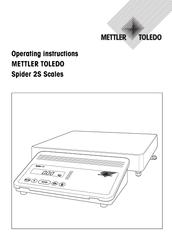 mettler toledo spider 2s manuals rh manualslib com mettler toledo spider sw manual Mettler-Toledo Logo