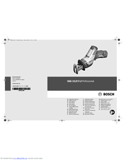 Bosch 8 V-LI Professional Original Instructions Manual