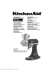 KitchenAid 5KGM Manual To Expert Results