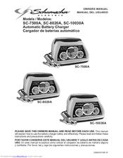 Schumacher Electric SC-7500A Owner's Manual