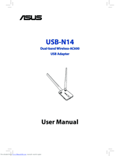 Asus USB-N14 User Manual