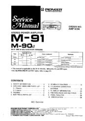 pioneer m 91 manuals rh manualslib com Pioneer M22 User ID and Password