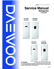 daewoo fn 510dw series manuals rh manualslib com Daewoo Refrigerator Parts Who Makes Daewoo Refrigerators