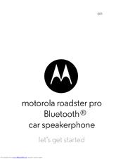 Motorola roadster 2 bluetooth speakerphone | ebay.