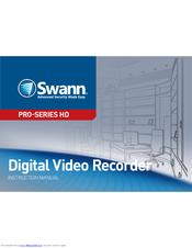 SWANN HD PRO-SERIES INSTRUCTION MANUAL Pdf Download