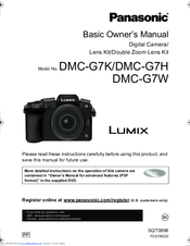 Panasonic LUMIX DMC-G7H Basic Owner's Manual