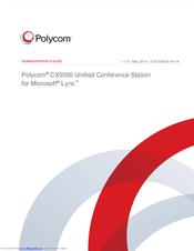 POLYCOM CX5500 ADMINISTRATOR'S MANUAL Pdf Download