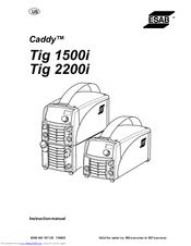 esab caddy tig 2200i ac dc manuals rh manualslib com Angus Young gysmi tig 180 ac/dc service manual