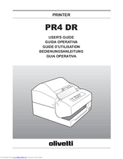 olivetti pr4 dr manuals rh manualslib com Pr2 Plus PR2 Form