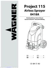 wagner project 115 manuals. Black Bedroom Furniture Sets. Home Design Ideas