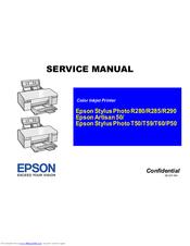 epson stylus photo p50 manuals rh manualslib com Epson PictureMate Charm Epson PictureMate Compact Photo Printer