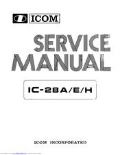 """icom ic 28h manuals rh manualslib com Icom 28""""H Manual Icom 290A"""