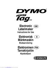 Dymo labelwriter manual