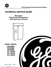 GE ZIS360NM Technical Service Manual