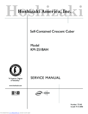 hoshizaki machine service manual