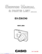 casio ex z40 manual product user guide instruction u2022 rh testdpc co Casio Keyboard Owner's Manual casio exilim z40 manual