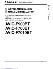 pioneer super tuner iiid avic f700bt manuals rh manualslib com  pioneer avic-f700bt wiring harness