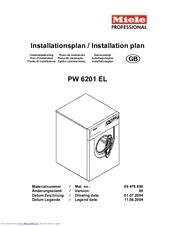 miele pw 6201 el manuals rh manualslib com miele pw 5065 service manual miele pw 6065 service manual